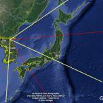 イージスアショアが秋田と山口になる理由をGoogle Earthで確認してみた
